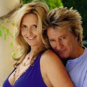 Rod Stewart & Penny Lancaster Talk About Their IVF Battle