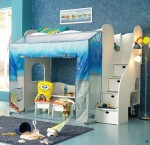 Nickelodeon Rooms Spongebob Loft Bed
