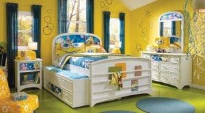 Nickelodeon Rooms Spongebob Trundle Bed