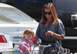 Alyson and Satyana Pick Up Groceries in LA!