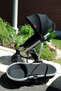 phil&teds smart stroller with bassinet