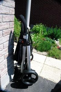 phil&teds smart stroller folded