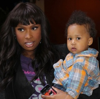 Jennifer Hudson & Son David Visit Regis & Kelly