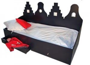 Kast van een Huis bed