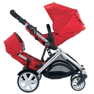 Britax B-Ready - double seat(facing in - facing out)