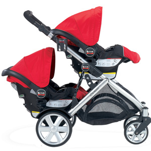 Britax B-Ready - double infant seats (facing out)