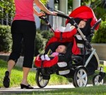Britax B-Ready - double infant seats (facing in)