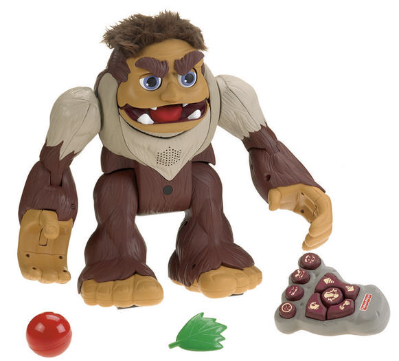 This Just In…Bigfoot Captured by Fisher Price