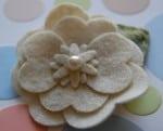 Sweet Magnolia Hair Clip