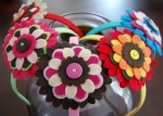 Happy Flower Headbands