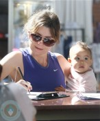 Ellen Pompeo and daughter Stella Luna Ivery