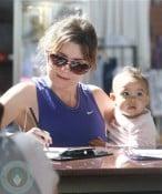 Ellen Pompeo and daughter Stella Luna Ivery