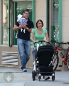 Bethenny Frankel, Jason Hoppy and Baby Bryn!