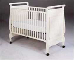 Ethan Allen drop-side crib