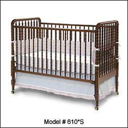 RECALL: 3,400 Angel Line Longwood Forest Drop-Side Cribs Due to Entrapment, Suffocation and Fall Hazards