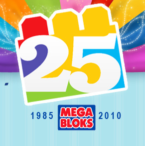 Celebrate 25 Years of Mega Bloks!