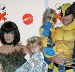Celebs and Their Kiddos Dress Up To Benefit The Children Affected by AIDS Foundation