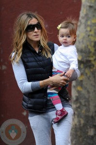 Sarah Jessica Parker with Marion