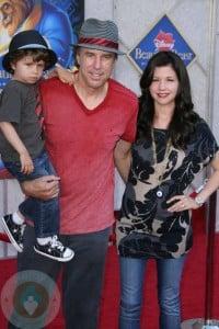 Kevin Nealon with son Gable