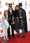 Brooke Burke and David Sharvet with daughters Sierra and Heaven Rain