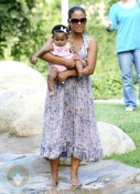 Christina Milian and daughter Violet