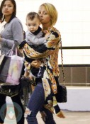 Nicole Richie and son Sparrow