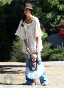 Camila Alves with daughter Vida