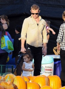 Cam Gigandet with daughter Everleigh