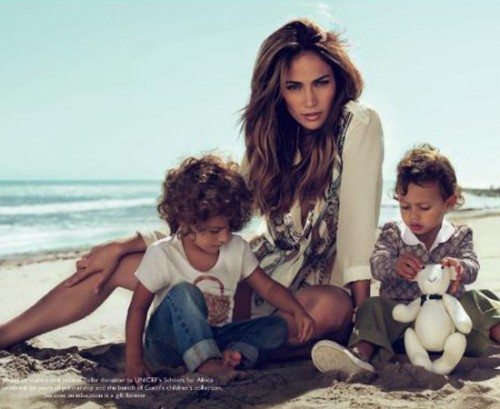 Max and Emme Anthony Modelling for Gucci