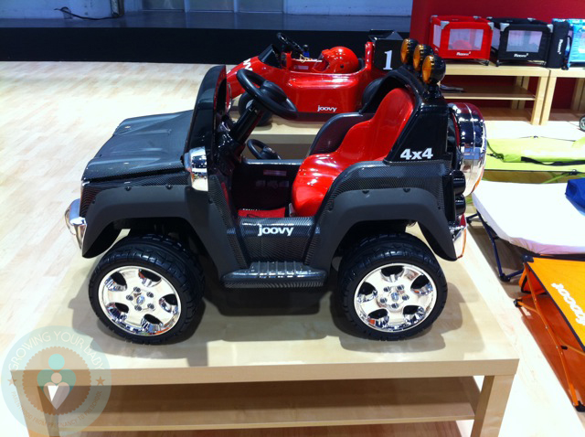 Joovy Electric Kids Jeep Growing Your Baby