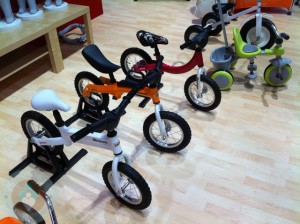 Joovy balance bikes