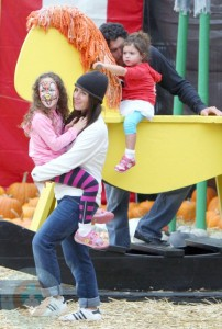 Soleil Moon Frye and Jason Goldberg with Daughters Poet & Jagger