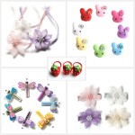 Lil' Sugarplum hair clips