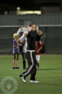 David Beckham with son Cruz