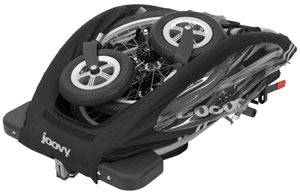Joovy Cocoon folded wheels off
