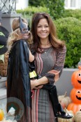 Brooke Burke and Heaven Rain