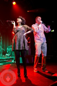Lily Allen Performing @Professor Green Concert