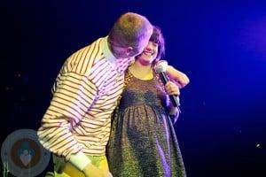 Lily Allen Performing @Professor Green Concert