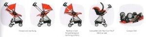 Quinny Xtra 2011 configurations