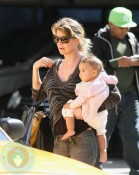 Ellen Pompeo and daughter Stella