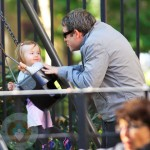 Matthew Broderick with daughter Tabitha