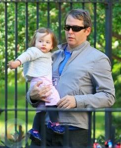 Matthew Broderick with daughter Tabitha