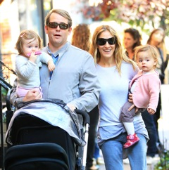 Picture Perfect!  SJP and Matthew Broderick Stroll With Their Girls
