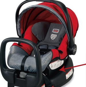 RECALL: 19,000 Britax Chaperone Infant Car Seat Due To Faulty Harness Strap Chest Clips That May Fracture