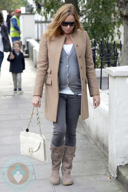 A pregnant Stella McCartney