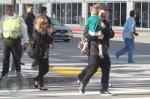 Nicole Richie & Joel Madden with Harlow & Sparrow Madden