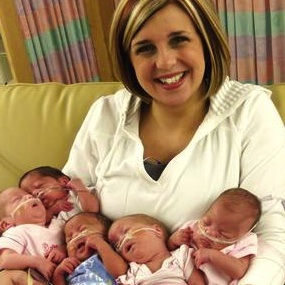 Ohio Quintuplets Born in August Making Good Progress!