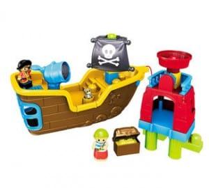 MEGA Pull Along Musical Pirate Ship