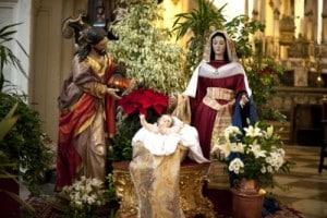 Christmas Nativity Scene composition