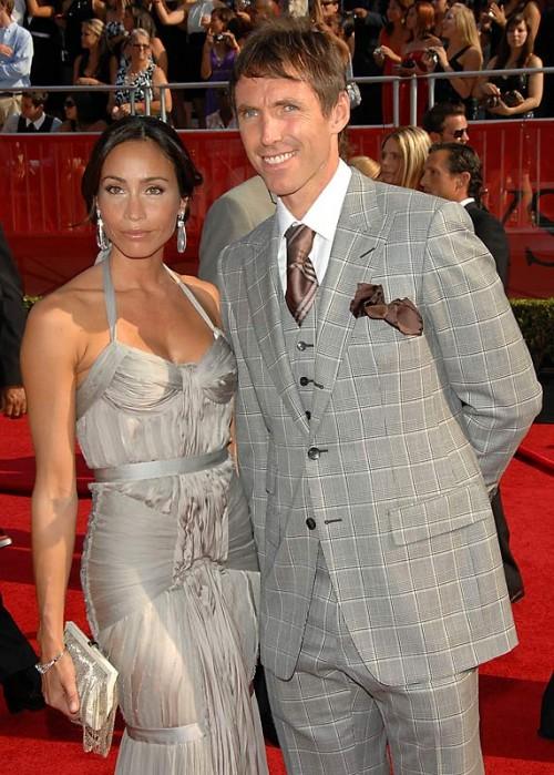 Alejandra Amarilla and Steve Nash